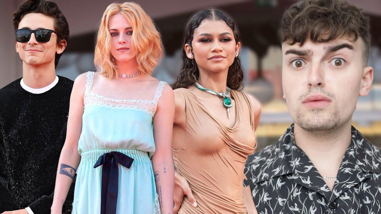 Why Did Chanel Do THAT To Kristen Stewart? (Venice Film Festival 2021 Fashion Roast)