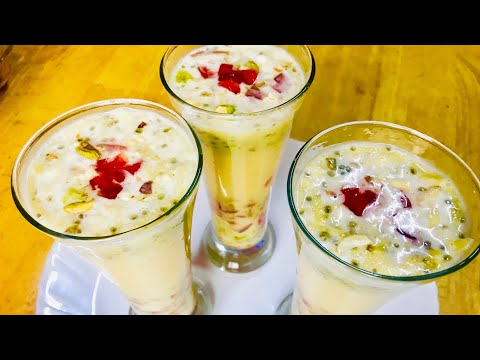 Special Welcome Drink-easy Custard Drink-easy Recipe