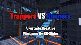 Trappers VS Runners: A Real Deathrun In Fortnite Creative By KK Slider (Code in description)