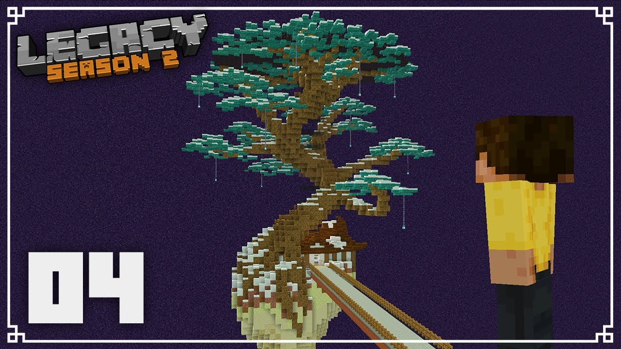 Legacy SMP 2   Building the BEST Enderman Farm Ever!    Minecraft 1.16 Survival Multiplayer