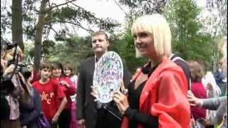 "Alex Dar & Валерия. Съемки сериала ""Была Любовь"". / Filming of the series about the singer Valeria."