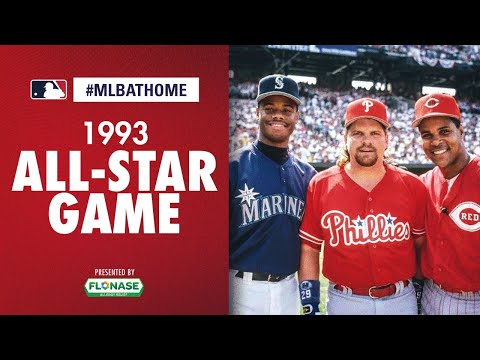 1993 All-Star Game (Camden Yards - Baltimore) | #MLBAtHome