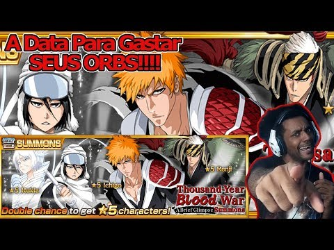 "Bleach Brave Souls: Guerra dos Mil Anos "" A Brief Glimpse "" O dia do Fim dos Orbs - Omega Play"