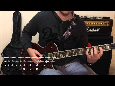 ZZ Top - La Grange -- Quick Riff Guitar Lesson