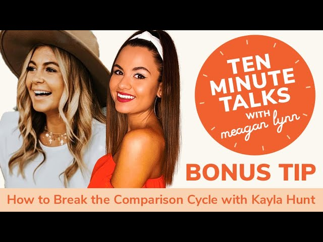 How to Break the Comparison Cycle with Founder Kayla Hunt