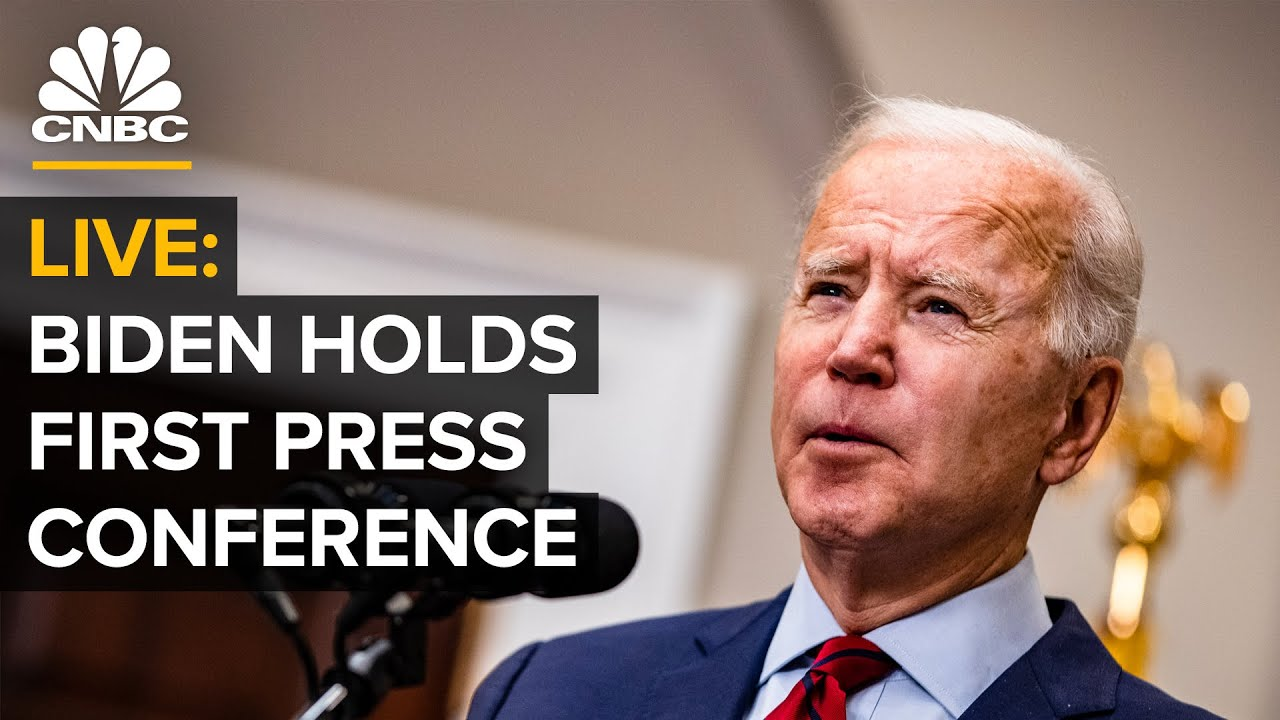 President Biden Holds First Press Conference Since Taking Office ...