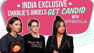 Gambar cover Kristen Stewart & Naomi Scott on facing sexism in Hollywood | Charlie's Angels | Twilight