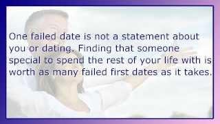 Over 50s Dating: The Ten Commandments