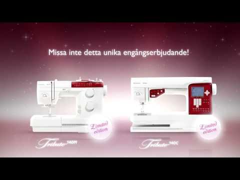 TRIBUTE™ 140C & 140M Svenska by HUSQVARNA VIKING®