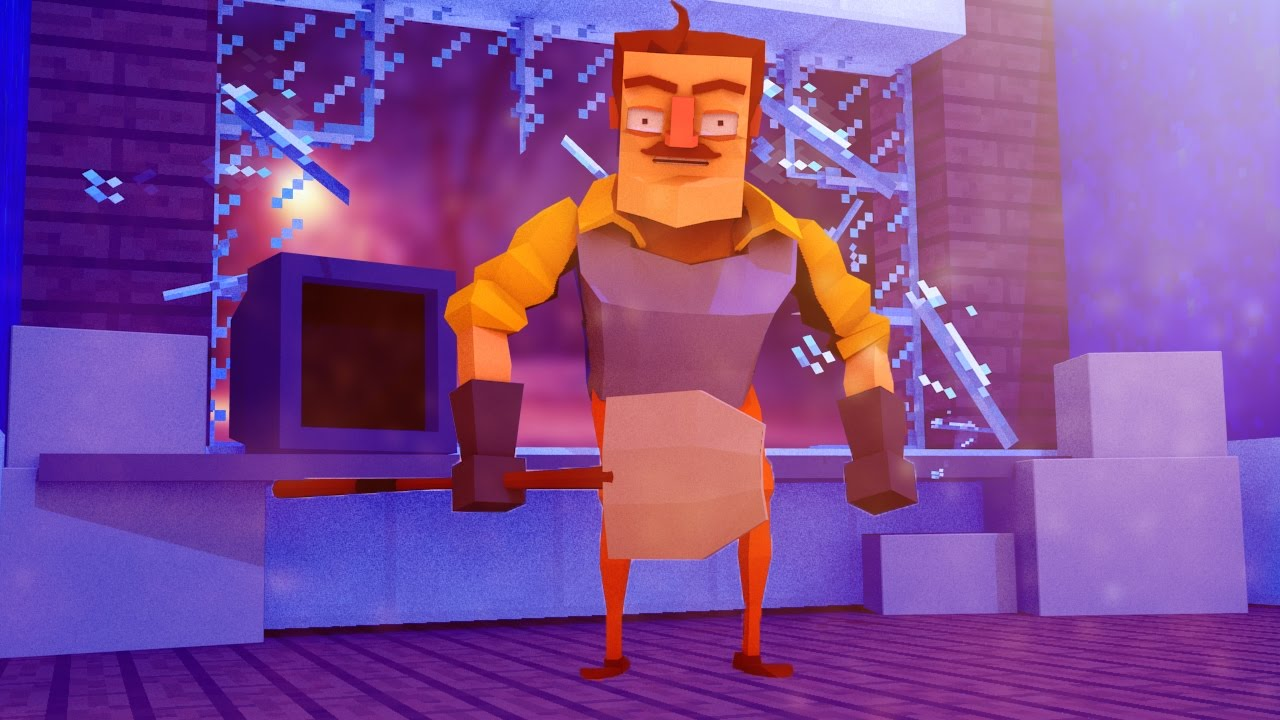 Minecraft hello neighbor he secretly steals from me for The atlantic craft minecraft