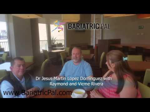 Dr Jesus Martin Lopez with Raymond and Vicme Rivera