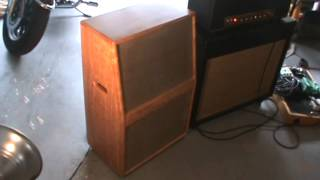 Driver Amplification Ported 2x12 cabinet demo