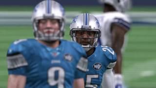 NFL Week 16 - Detroit Lions vs Dallas Cowboys - Full Game - Simulation Nation