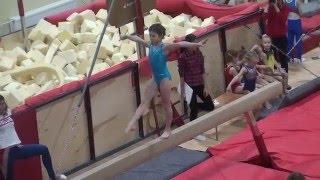 Спортивная гимнастика Бревно 2 юнешеский Сайко Виолетта