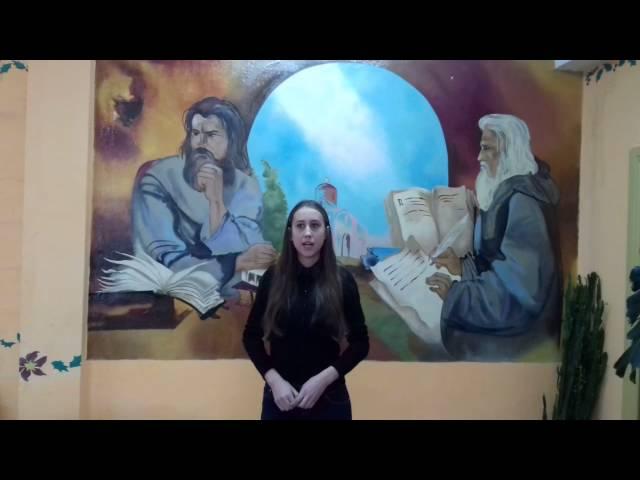 Изображение предпросмотра прочтения – НатальяБуряк читает произведение «Февраль» В.Я.Брюсова