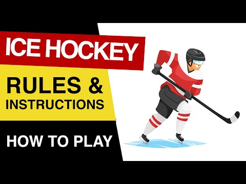 🏒 Rules Of Ice Hockey : How To PLAY Ice Hockey : Ice Hockey Rules For Beginners EXPLAINED