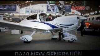 Diamond DA40NG with Austro Engine