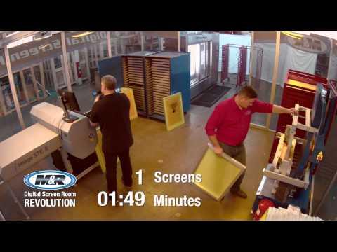 Digital Screen Room Revolution