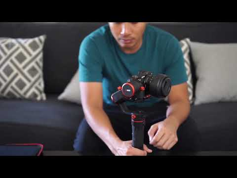 FeiyuTech a1000 Gimbal - Unboxing, Setup, and Footage with Sony a6500