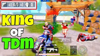 KING OF TDM or HOW TO IMPROVE MOVEMENTS in PUBG Mobile. TDM 40 KILLS +