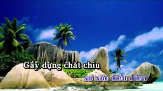 Tân cổ - Cơn bão biển - karaoke beat