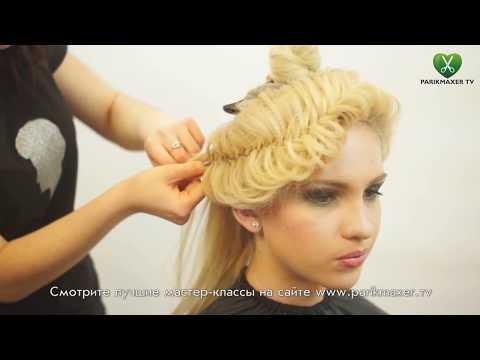 Вечерняя прическа Elegаnt evening updo parikmaxer tv парикмахер тв