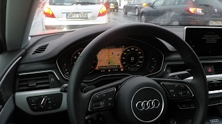 Audi A4/A5 traffic jam assist - real test :: [1001cars]