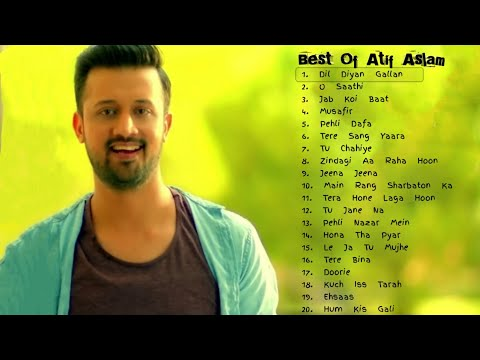 Top 20 Songs Of Atif Aslam  Best Of Atif Aslam  Jukebox 2018