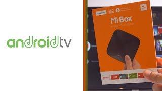 تجربتي لجهاز Mi Box 3  بنظام Android TV