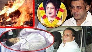 आज होगा अंतिम संस्कार | Today Actress Sridevi Funeral | HJ NEWS