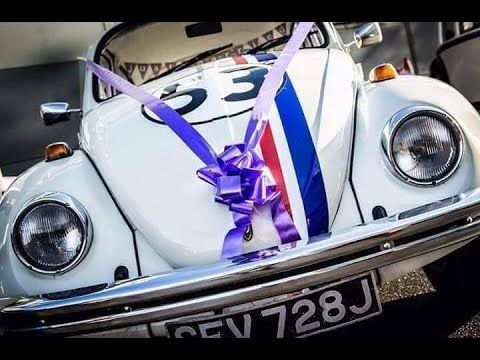 Herbie Wedding Car