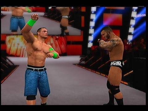 WWE 2k15 - John Cena And Randy Orton Vs Kane And Seth ...