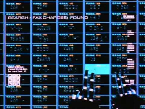 Johnny Mnemonic Cyberspace [Copyshop]