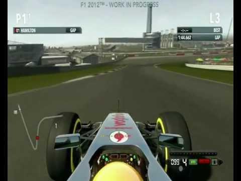 F1 2012™ WORK IN PROGRESS AUSTIN TEXAS TRACK UNITED STATES
