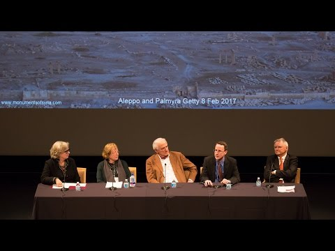 Palmyra and Aleppo: Syria's Cultural Heritage in Conflict (Video 4 of 4)