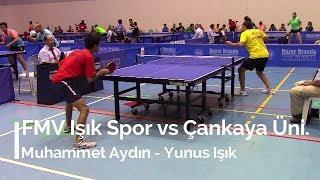 Muhammet AYDIN 2 (FMV Işık Spor) - Yunus IŞIK 3 (Çankaya Üniversitesi)