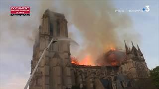 L'incendie de Notre-Dame vu par les pompiers de Paris