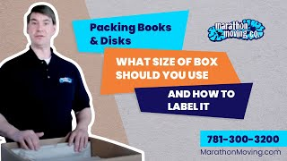 Packing Books & Disks, What Size of box should you use and how to label it