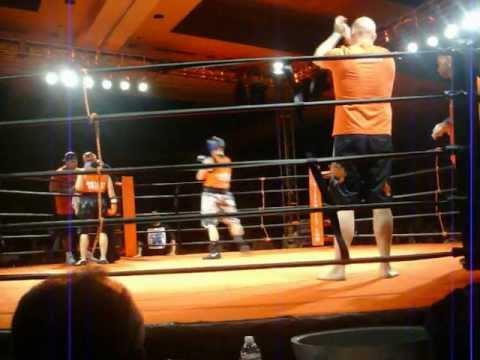 Shane Reed championship fight at badboyfights