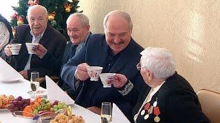 Лукашенко посетил дом-интернат для ветеранов войны и труда