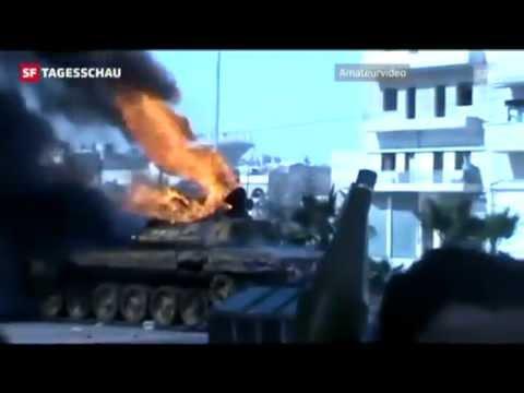 Syrien: Schwere Kämpfe um Großstädte / Regime droht erstmals mit C-Waffen 23.072012
