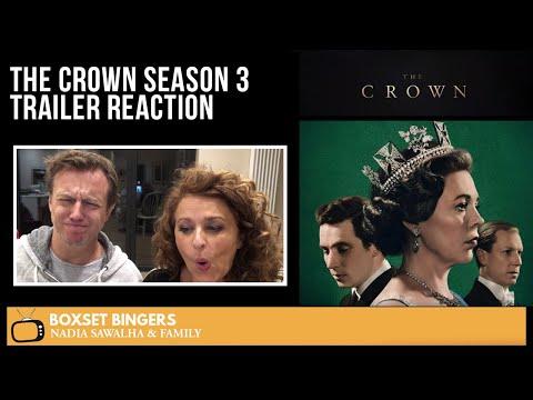 The Crown (Netflix SEASON 3) Nadia Sawalha & The Boxset Bingers REACTION