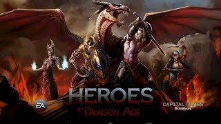 Heroes of Dragon Age (Android Ios) - обзор, летсплей, геймплей
