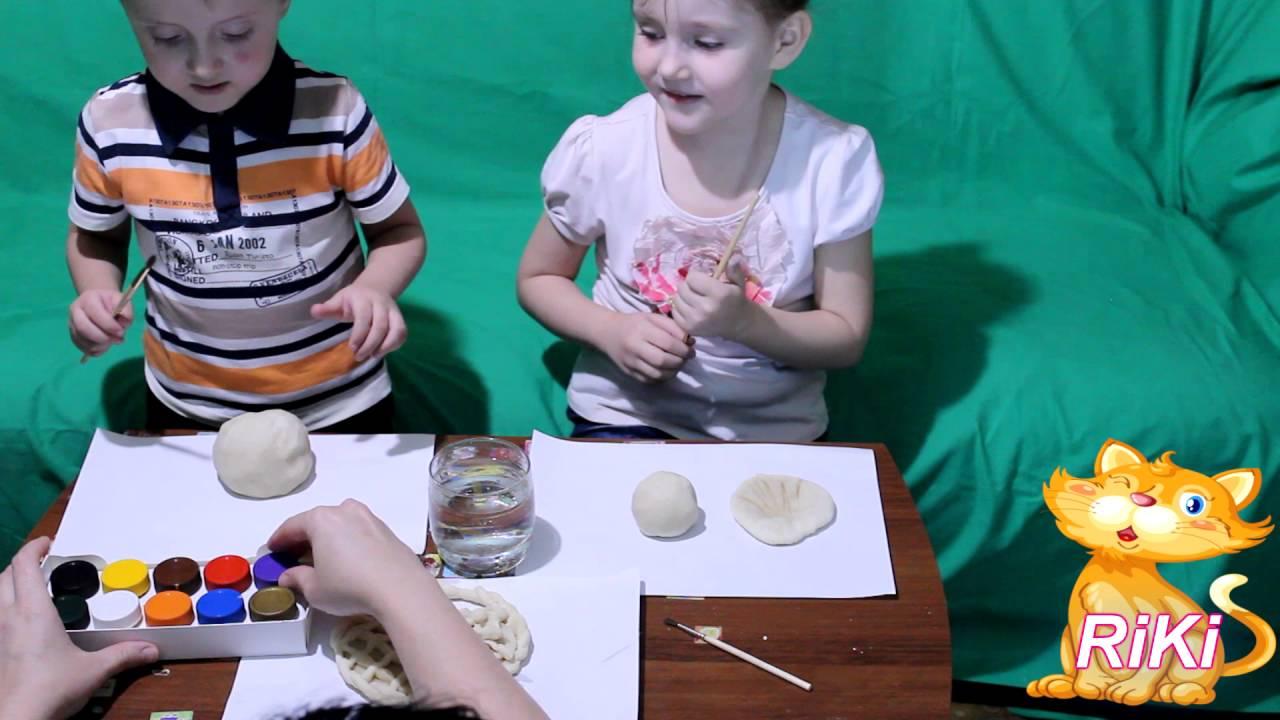 теста лепят солёного картинки из дети