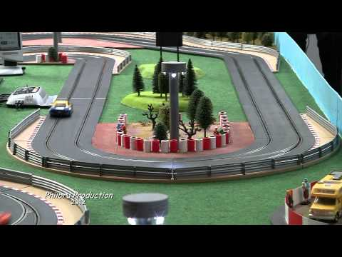 Le circuit Scalextric digital du Ronchin Model Club