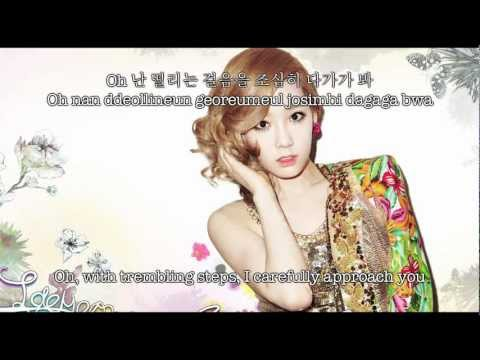 SNSD TTS Taetiseo - Baby steps (Hangul & Romanized & Eng sub)