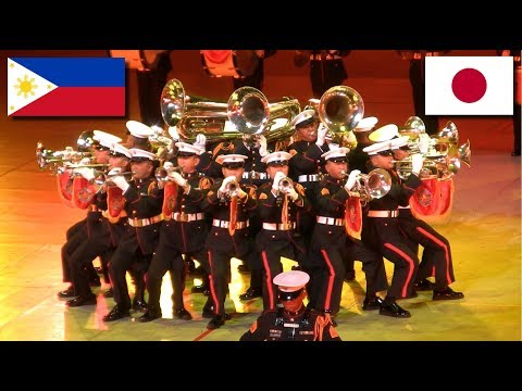 Philippine Military Band at JSDF Marching Festival 2014 自衛隊音楽まつり