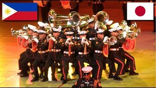 Philippine Military Band at JSDF Marching Festival 2014
