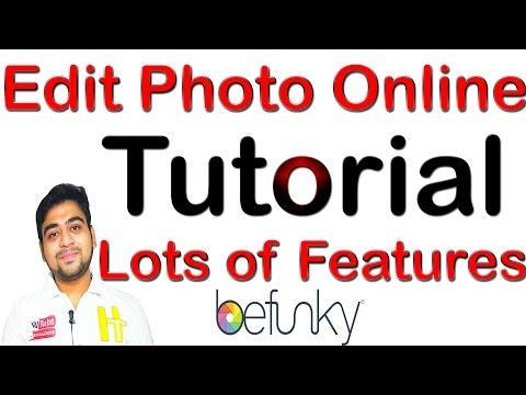 Edit Your Photo Online || Lots of Features || Photo Editor || Befunky Tutorial || Hindi