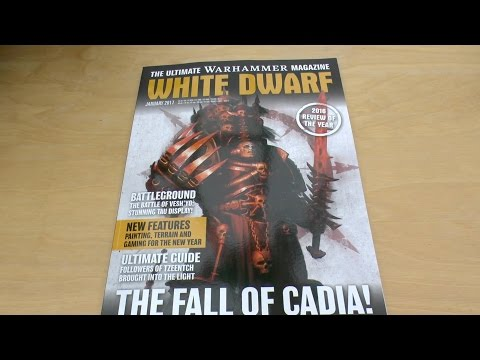January 2017 White Dwarf - First Look